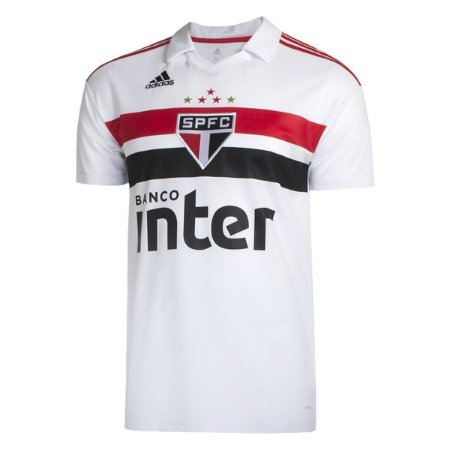 c73762cd67 Camisa São Paulo Home 18 19 Torcedor Adidas Masculina - MERCADO ...