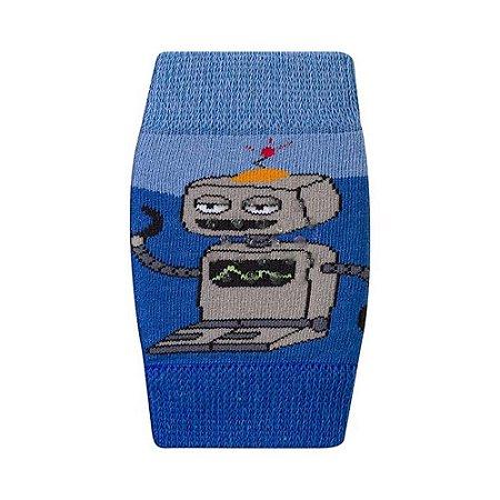 Joelheira Bebê Robô Duck Azul