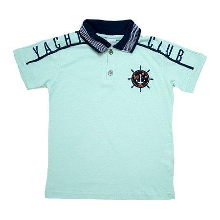 Camiseta Gola Polo Club Minore Verde