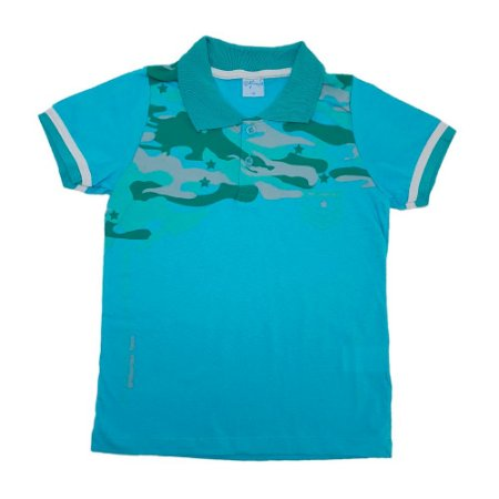 Camisa Juvenil Gola Polo Wilbertex Verde