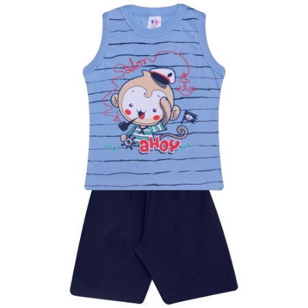 Conjunto Infantil Ahoy W. Kids Azul