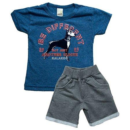 Conjunto Infantil Dog Ralakids Azul
