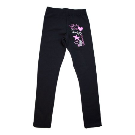 Legging Juvenil Girls Wilbertex Preto