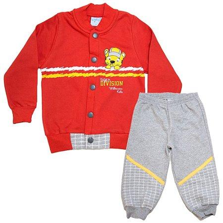 Conjunto Infantil Tiger Wilbertex Vermelho