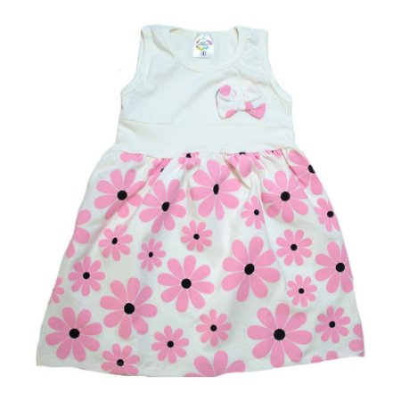 Vestido Infantil Margarida Hsa Pérola