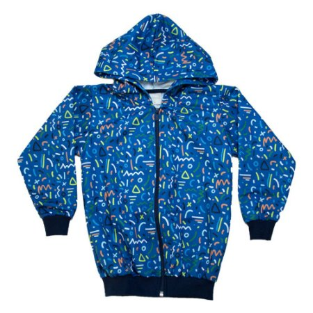Jaqueta Infantil Sublimada Molekada Azul