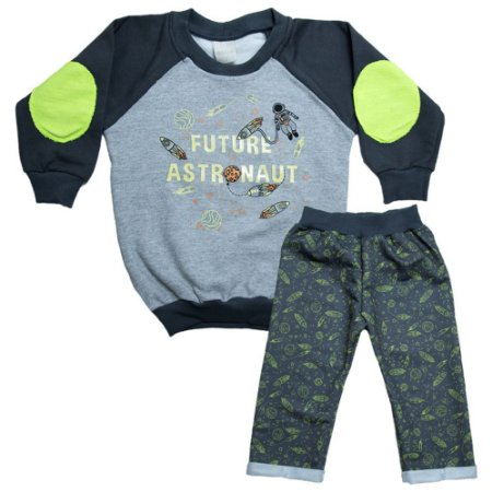 Conjunto Infantil Astronauta Molekada Chumbo