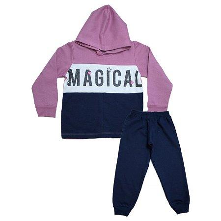 Conjunto Infantil Magical Kibs Kids Marinho