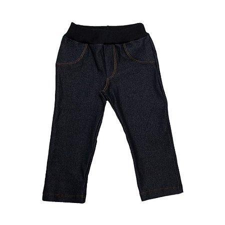 Calça Infantil Cotton Jeans Lolitas Preto