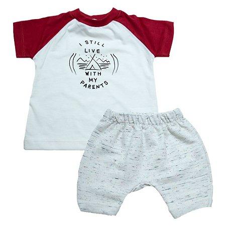 Conjunto Bebê I Still Live Baby Gut Pérola