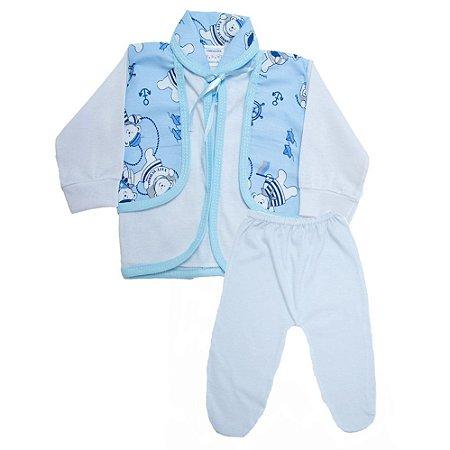 Conjunto Bebê Pagão Radani Branco