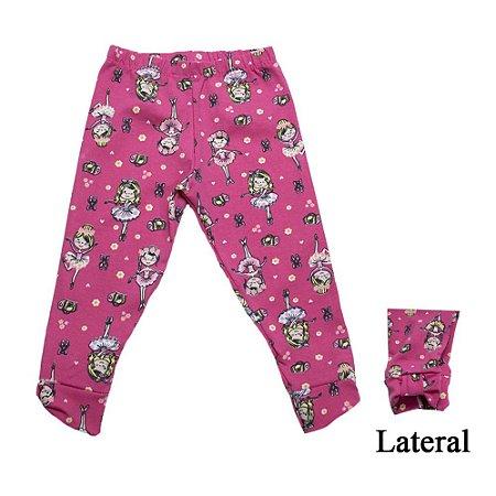 Legging Infantil Bailarina Inova Kids Pink