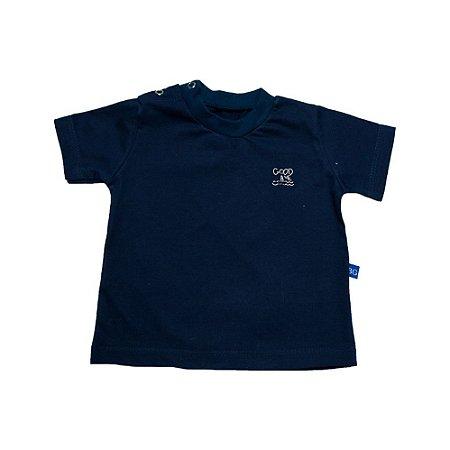 Camiseta Bebê Good Wave Baby Gut Marinho