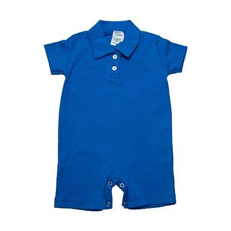 Macaquinho Bebê G Kids Azul Royal