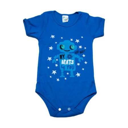 Body Infantil Robô G Kids Royal
