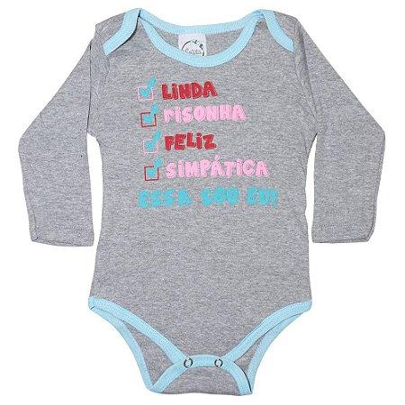 Body Bebê Linda Lolita Mescla