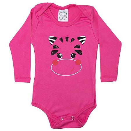 Body Bebê Vaquinha Lolita Pink