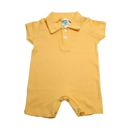 Macaquinho Bebê G Kids Amarelo