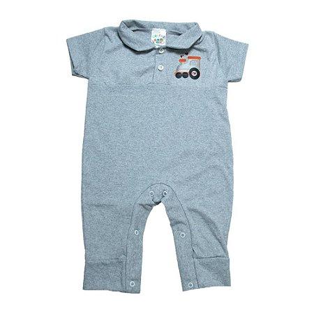 Macaquinho Bebê Aplique G Kids Mescla