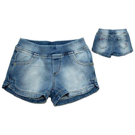 Shorts Jogger Infantil Jeans Jeito Infantil Azul