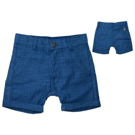 Bermuda Infantil Sportchic Sarja Jeito Infantil Azul