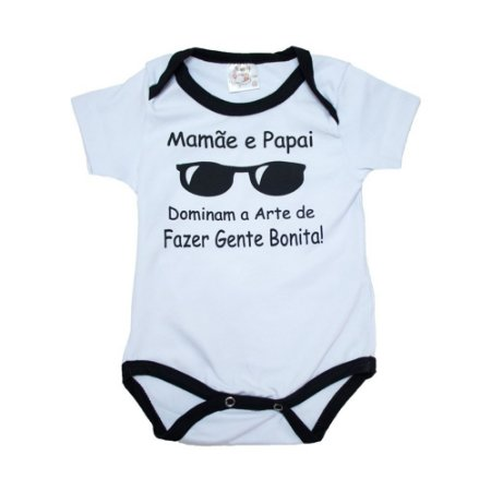 Body Bebê Arte De Fazer Gente Bonita Nanny Baby Branco