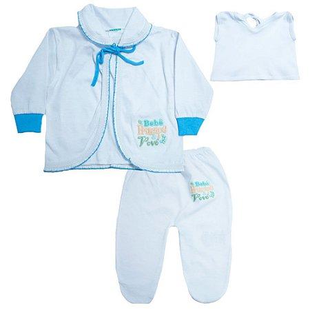Conjunto Bebê Pagão Feroz Baby Turquesa