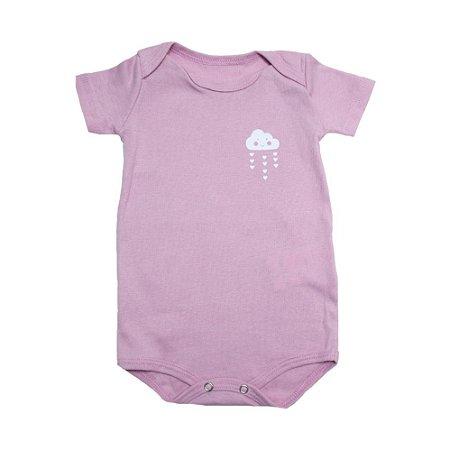 Body Bebê Nuvem Baby Gut Rosa