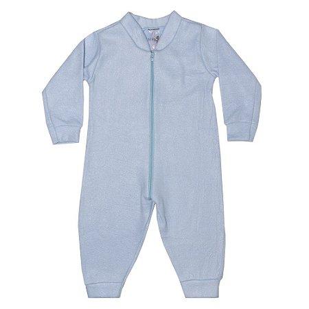 Macacão Bebê Soft Azul Claro