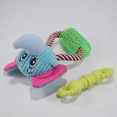 Brinquedos pet - kit 13 - 2 itens