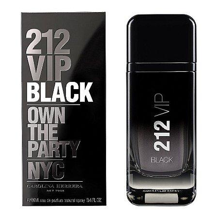 Perfume Carolina Herrera 212 VIP Black Masculino 100ml
