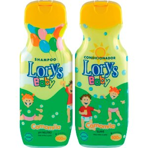 Kit Lorys Baby Camomila Sh+Cd