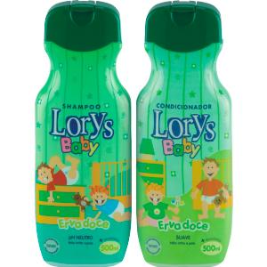 Kit Lorys Baby Erva Doce Sh+Cd