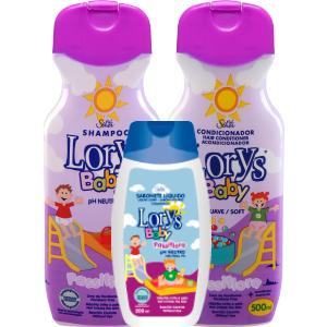 Kit Lorys Baby Passiflora Sh+Cd+Sabonete Liquido