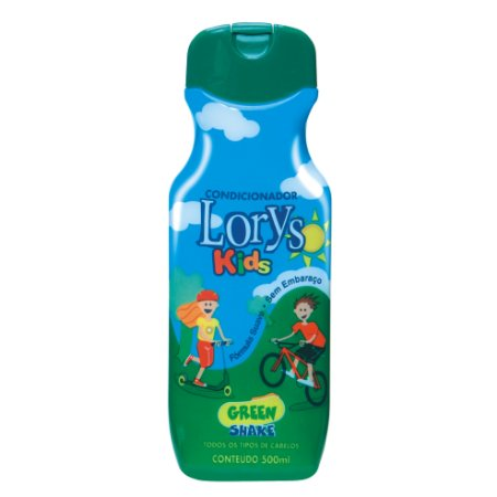 Condicionador Lorys Kids Green Shake 500ml