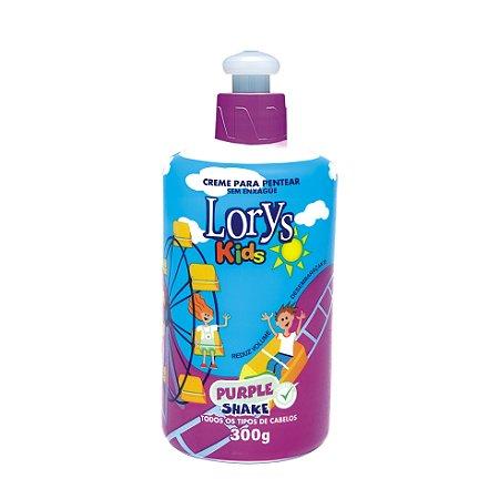 Creme Para Pentear Lorys Kids Purple Shake 300G