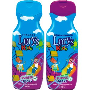 Kit Lorys Kids Purple Sh+Cd