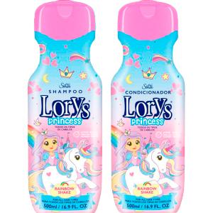 Kit Lorys Princess Unicornio Shampoo e Condicionador