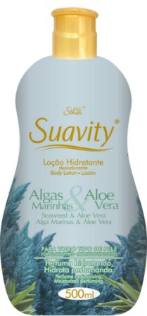 Loção Deo Hidratante Suavity Algas Marinhas E Aloe Vera 500ml