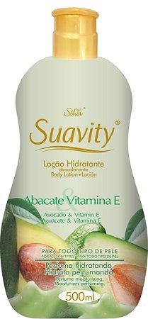 Loção Deo Hidratante Suavity Abacate e Vitamina E 500ml