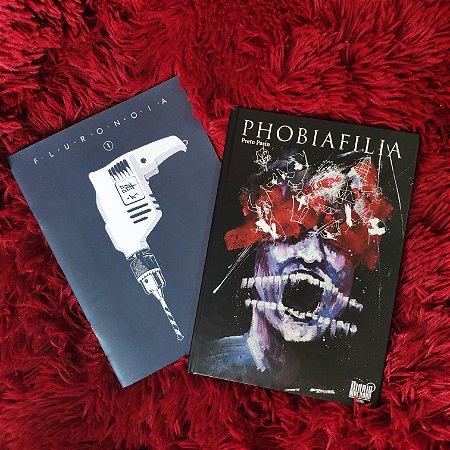 Phobiafilia + Fluronoia vol. 1 (Combo Preto Pasin)