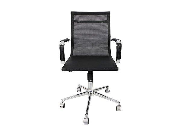 1 Cadeira Secretaria Diretor Escritório Mesh Charles Eames