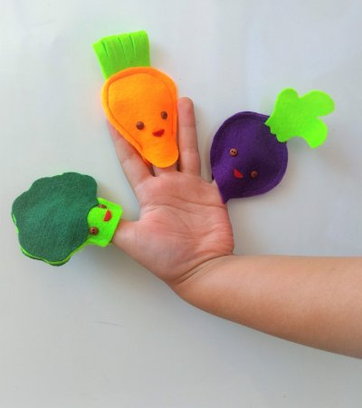 Dedoches - grupo de vegetais