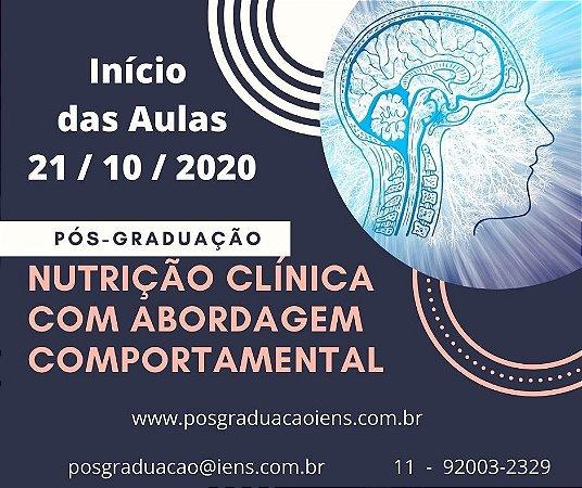Matrícula - Pós-Graduação Lato Sensu - NUTRIÇÃO CLÍNICA COM ABORDAGEM COMPORTAMENTAL