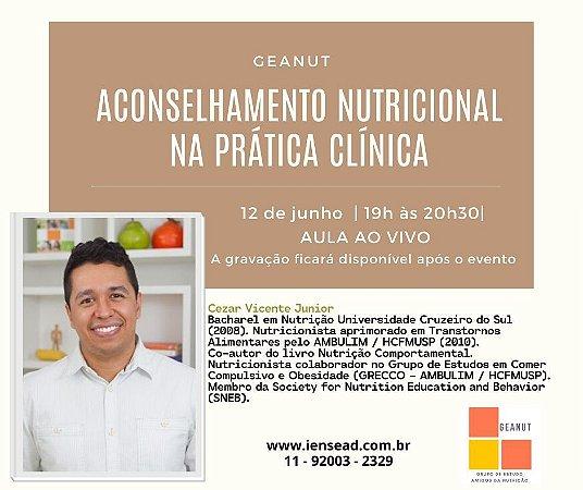 AULA GRAVADA - Aconselhamento nutricional na prática clínica
