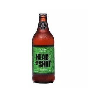 CERVEJA HEAD SHOT DOUBLE IPA BARCO DESCARTAVEL - 600 ML