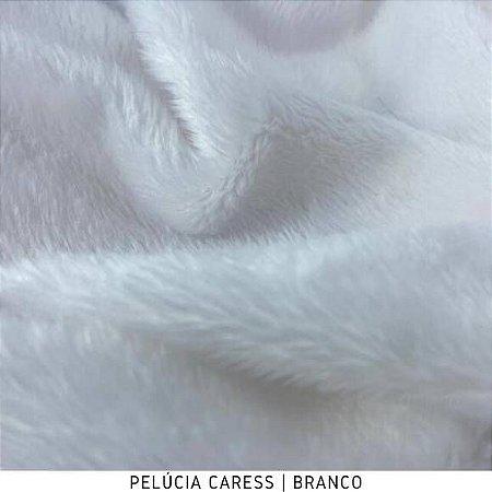 Pelúcia Caress   Pelo 5mm Branco 50cm x 1,50m