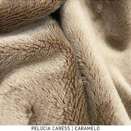 Pelúcia Caress Caramelo Macia Altura Pelo 5mm