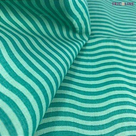 Tricoline Ondas Verde 50cmX1,40m