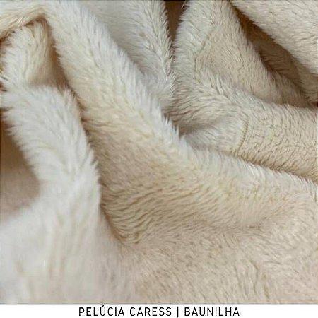 Pelúcia Caress Baunilha tecido pelo Baixo, Macia e não Desfia
